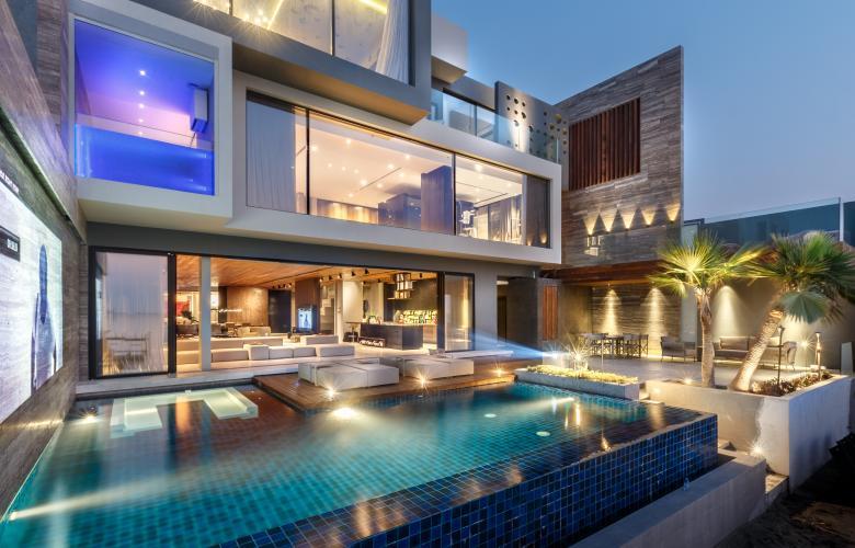 Luxury Designer Villa In Bahrain By MORIQ